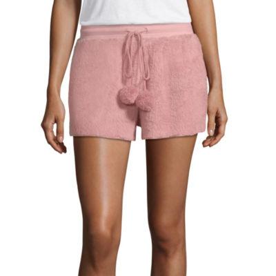 Ambrielle Cozy Pom Pom Pajama Shorts