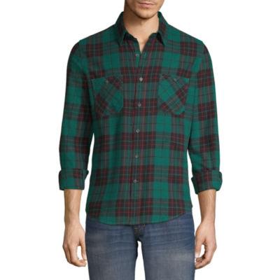 Peyton & Parker Long Sleeve Flannel Shirt