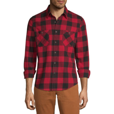 Peyton & Parker Long Sleeve Flannel Shirt