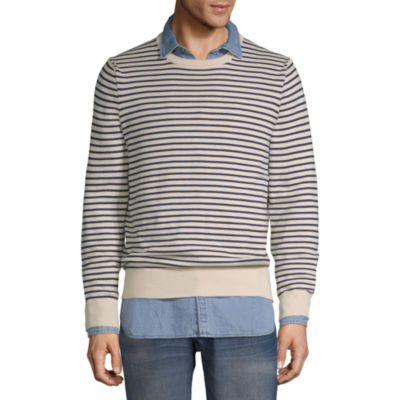 Peyton & Parker Crew Neck Long Sleeve Pullover Sweater