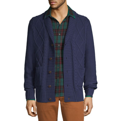 Peyton & Parker Mens Long Sleeve Cardigan