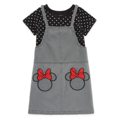 Disney Short Sleeve Minnie Mouse Jumper - Toddler Girls
