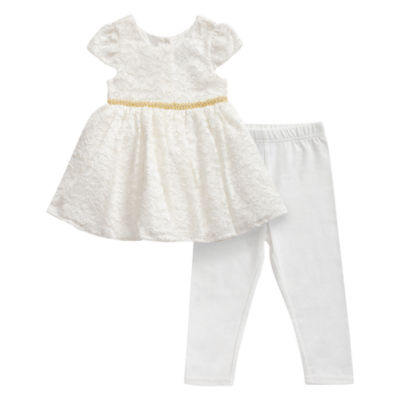 Young Land Legging Set-Baby Girls