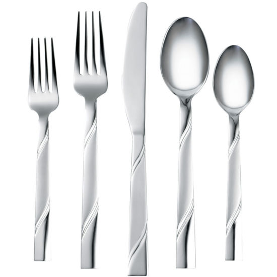 Cambridge® Maren Frost 20-pc. Flatware Set