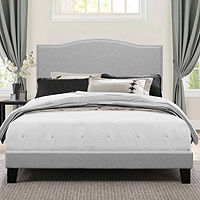 Deals on Headboard Possibilities Blakely Upholstered Bed, Full
