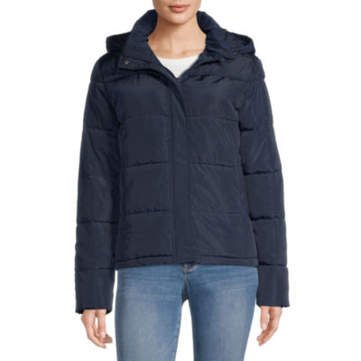 Arizona Hooded Heavyweight Puffer Jacket-Juniors