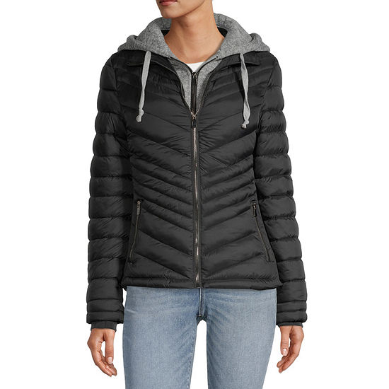 Ymi Hooded Midweight Puffer Jacket-Juniors