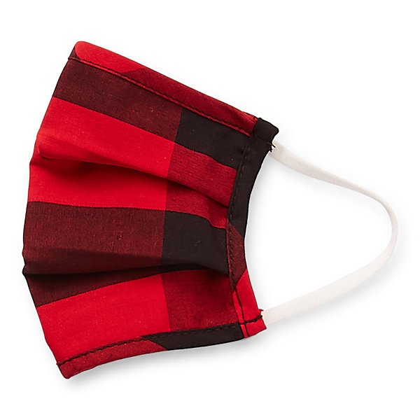 North Pole Trading Co. Buffalo Plaid Kids Unisex Face Mask