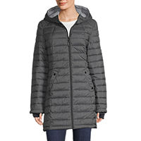 Deals on Hfx Hooded Midweight Puffer Jacket