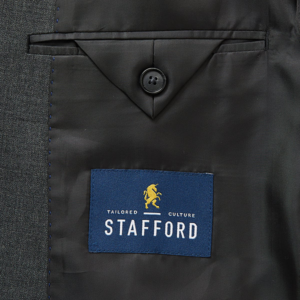 Stafford Super Mens Stretch Classic Fit Suit Jacket