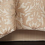 Five Queens Court Cresmont 4-pc. Damask + Scroll Heavyweight Comforter Set