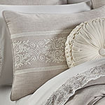 Five Queens Court Maryanne 4-pc. Damask + Scroll Heavyweight Comforter Set
