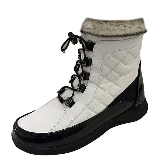 Totes Womens Elsa Waterproof Flat Heel Winter Boots