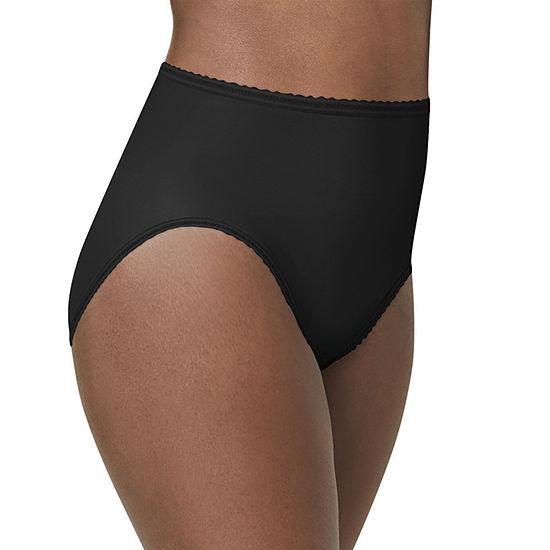 Bali Skimp Skamp Hicut Microfiber High Cut Panty