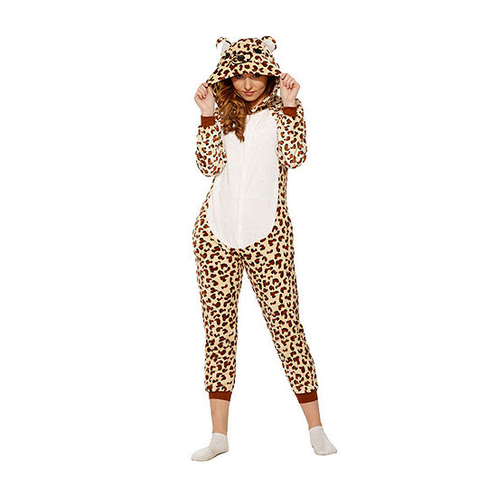 Adult Leopard Jumpsuit Unisex Adult Costume Unisex Adult Costume