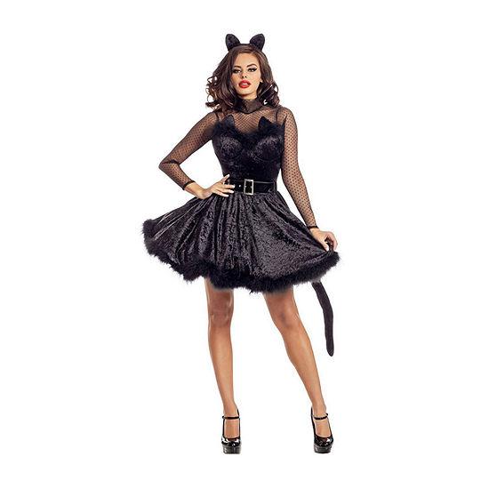 Ladies Sassy Classy Kitty Womens Costume