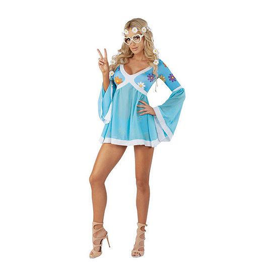 Ladies Sassy Flower Power Womens Costume