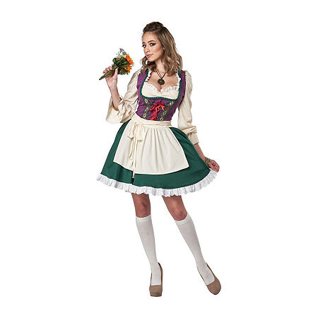 Womens Beer Garden Girl Womens Costume. X-large . Multiple Colors