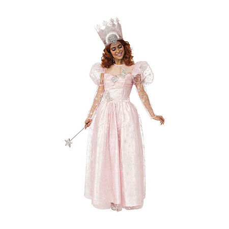 Women's Glinda Womens Costume, Medium , Pink