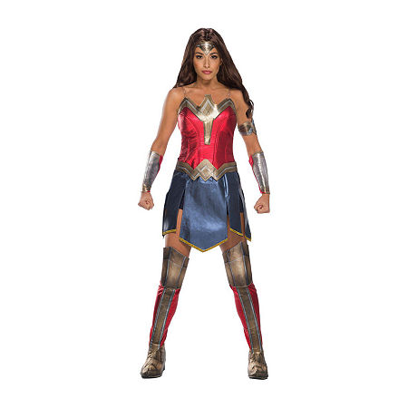 Ww2 Movie Wonder Woman Adult Costume Womens Costume. Small . Red