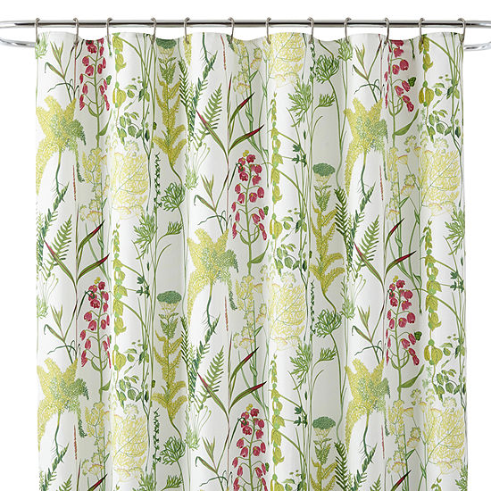 JCPenney Home Ferns Shower Curtain