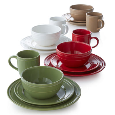 JCPenney Home™ Stoneware 4-pc. Place Setting