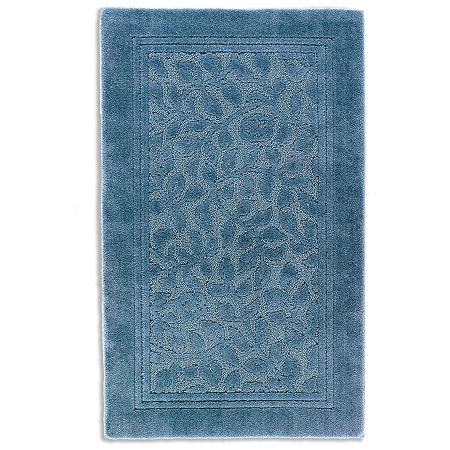 JCPenney Home Wexford Washable Rectangular Rug, One Size , Blue