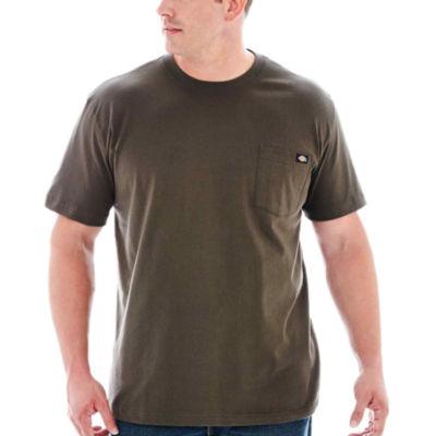 Dickies® WS450 Heavyweight Short-Sleeve Pocket Tee–Big & Tall