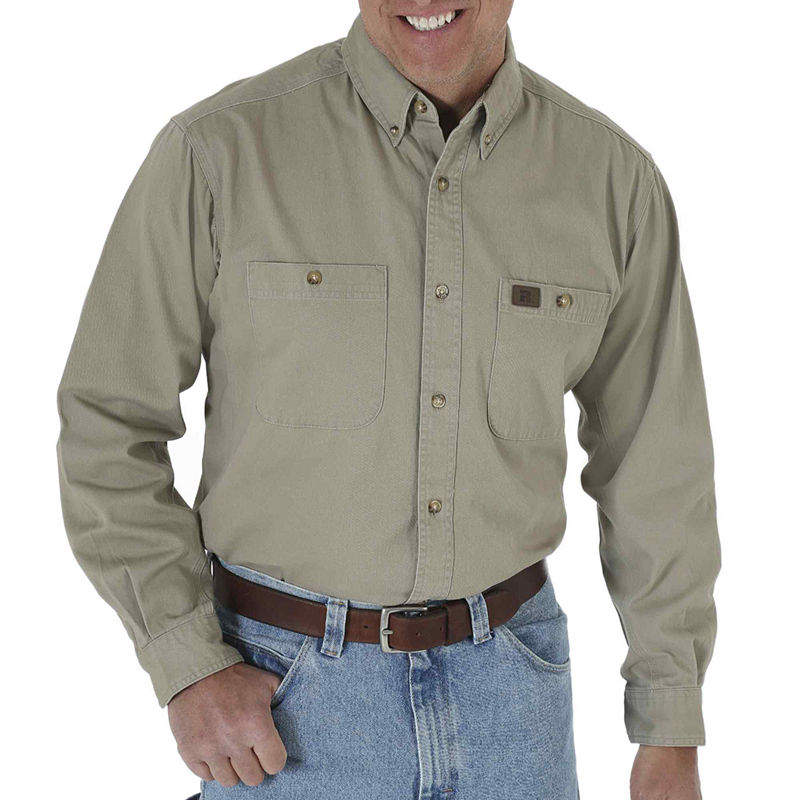 image of Riggs Workwear by Wrangler Twill Work Shirt-pp5003950013