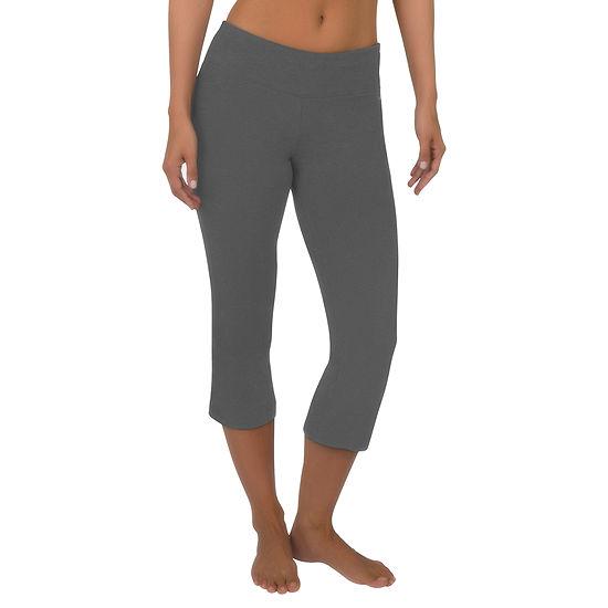 de4d70652f761 Jockey® Slim-Fit Flare-Leg Capris - JCPenney