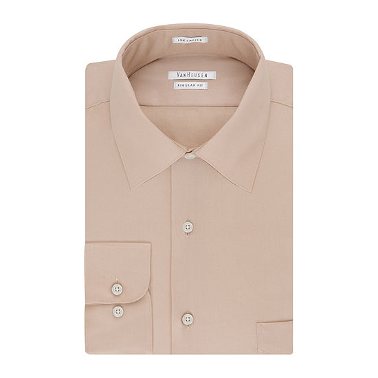 Van Heusen® No-Iron Lux Sateen Dress Shirt - Big & Tall