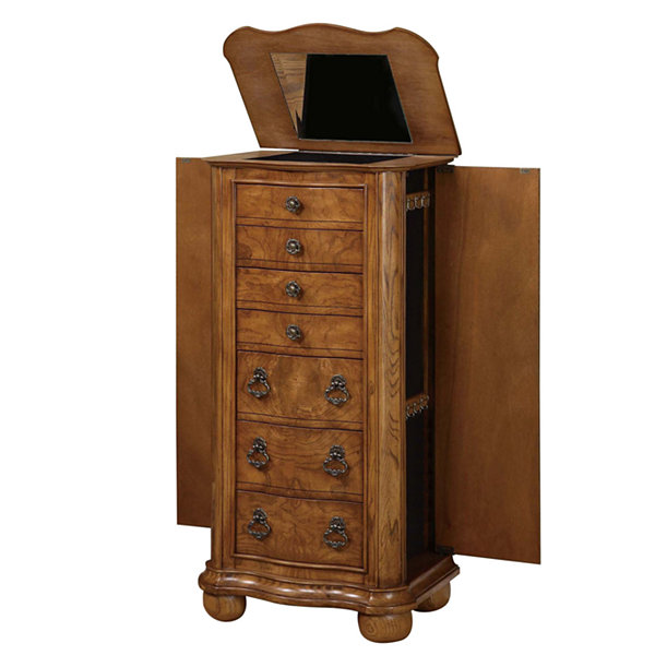 Charmant Porter Valley Jewelry Armoire