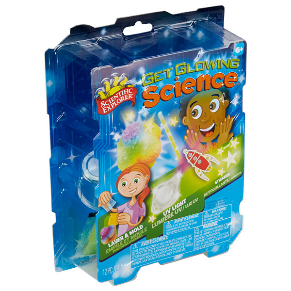 Scientific Explorer Get Glowing Science 10-pc. Discovery Toy