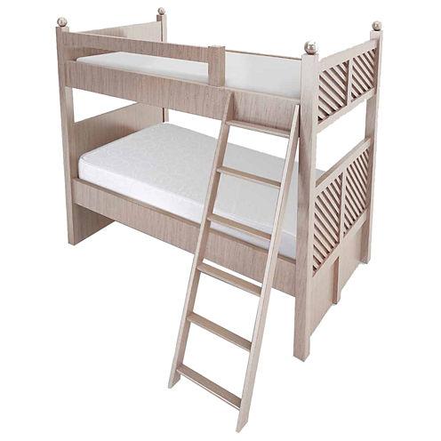 "Snuggle Home 6"" Bunk Bed"" Medium Tight-Top Memory Foam Mattress"