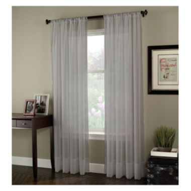 Soho Rod-Pocket Sheer Curtain Panel