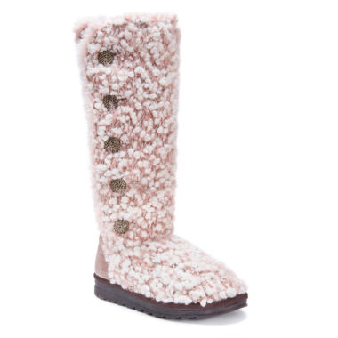 Muk Luks Felicity Womens Water Resistant Winter Boots