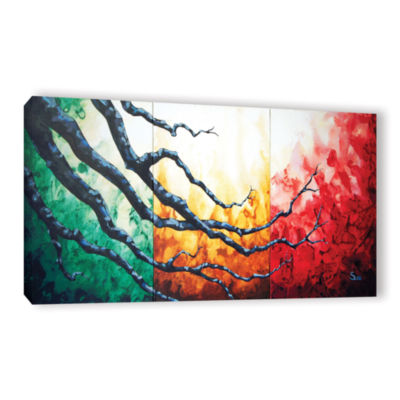 Brushstone Higher Gallery Wrapped Canvas Wall Art