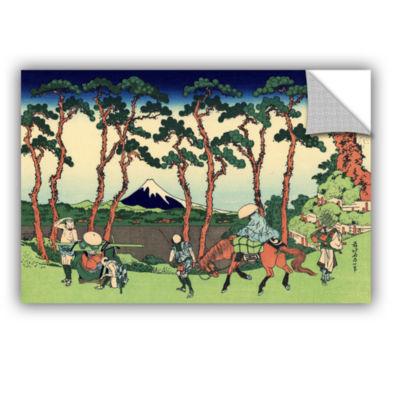 Brushstone Hodogaya On The Tokaido Removable WallDecal