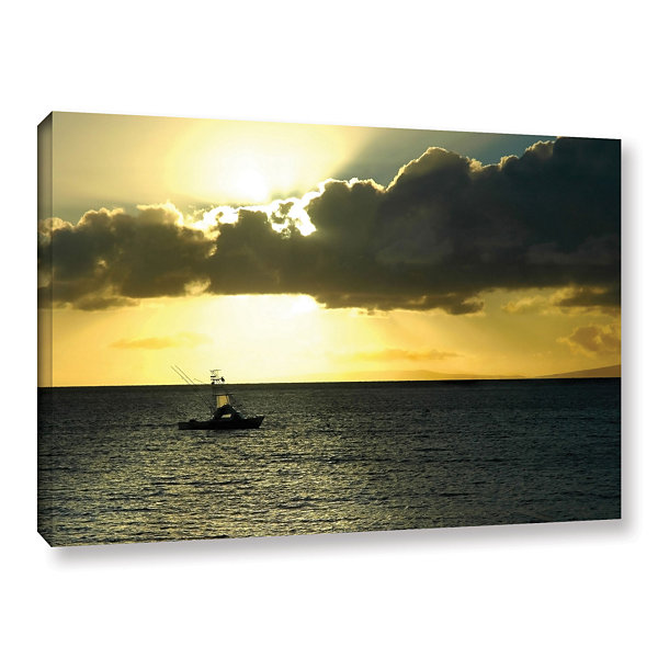 Brushstone Heading Home Gallery Wrapped Canvas Wall Art - JCPenney