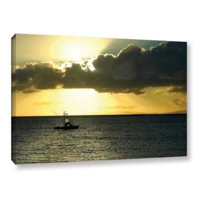 Brushstone Heading Home Gallery Wrapped Canvas Wall Art