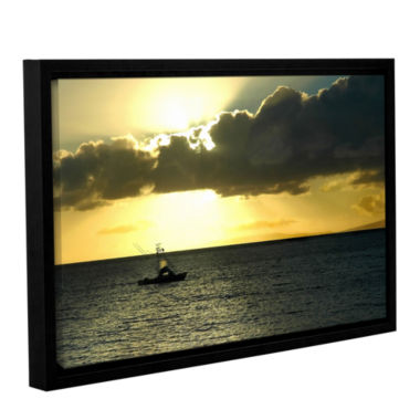 Brushstone Heading Home Gallery Wrapped Floater-Framed Canvas Wall Art