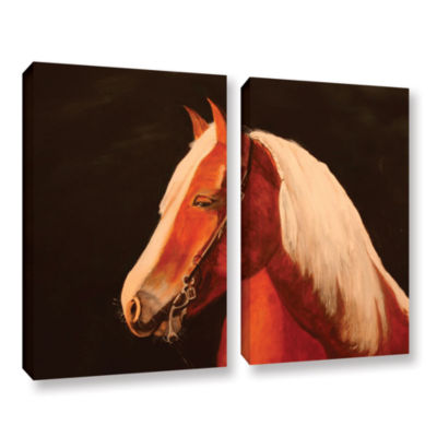 Brushstone Horse Painted 2-pc. Gallery Wrapped Canvas Wall Art