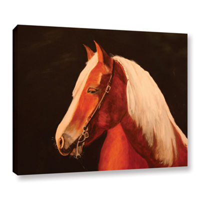 Brushstone Horse Painted Gallery Wrapped Canvas Wall Art