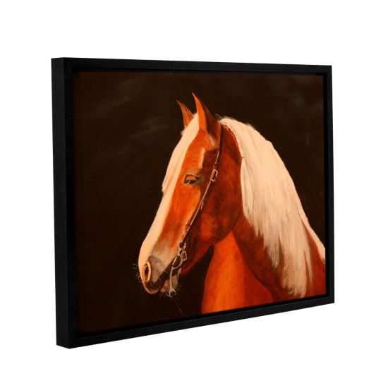 Brushstone Horse Painted Gallery Wrapped Floater-Framed Canvas Wall Art