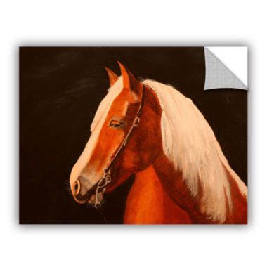 Brushstone Horse Painted Removable Wall Decal