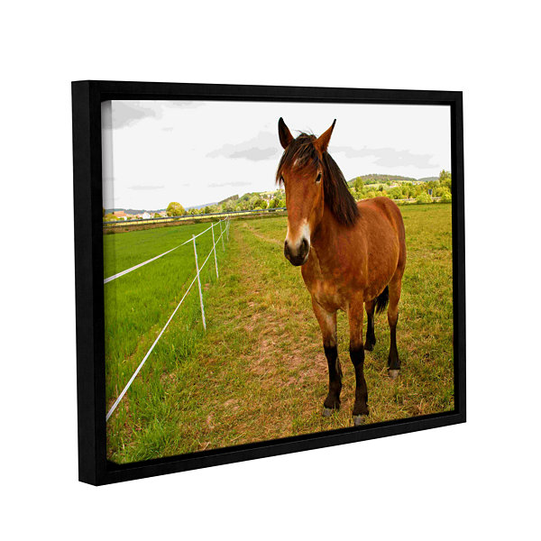 Brushstone Horse Painted II Gallery Wrapped Floater-Framed Canvas Wall Art
