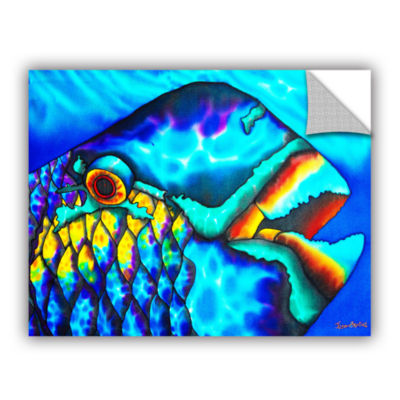 Brushstone Happy Parrotfish Removable Wall Decal