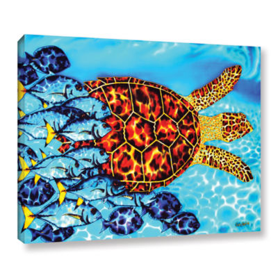 Brushstone Hawksbill & Jacks Gallery Wrapped Canvas Wall Art