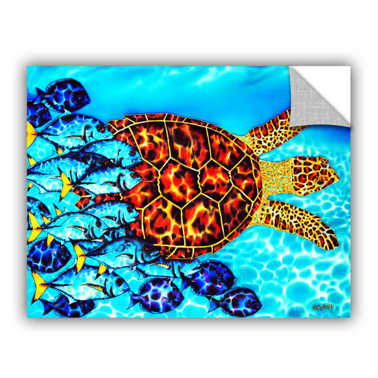 Brushstone Hawksbill & Jacks Removable Wall Decal