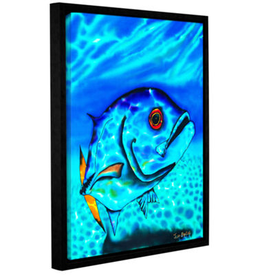 Brushstone Horse Eyed Jack Gallery Wrapped Floater-Framed Canvas Wall Art